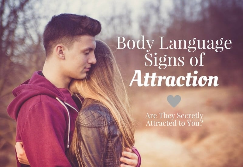 Signs a man is attracted to a woman