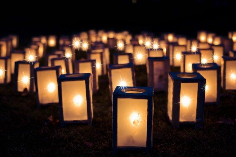 Image of Christmas lanterns