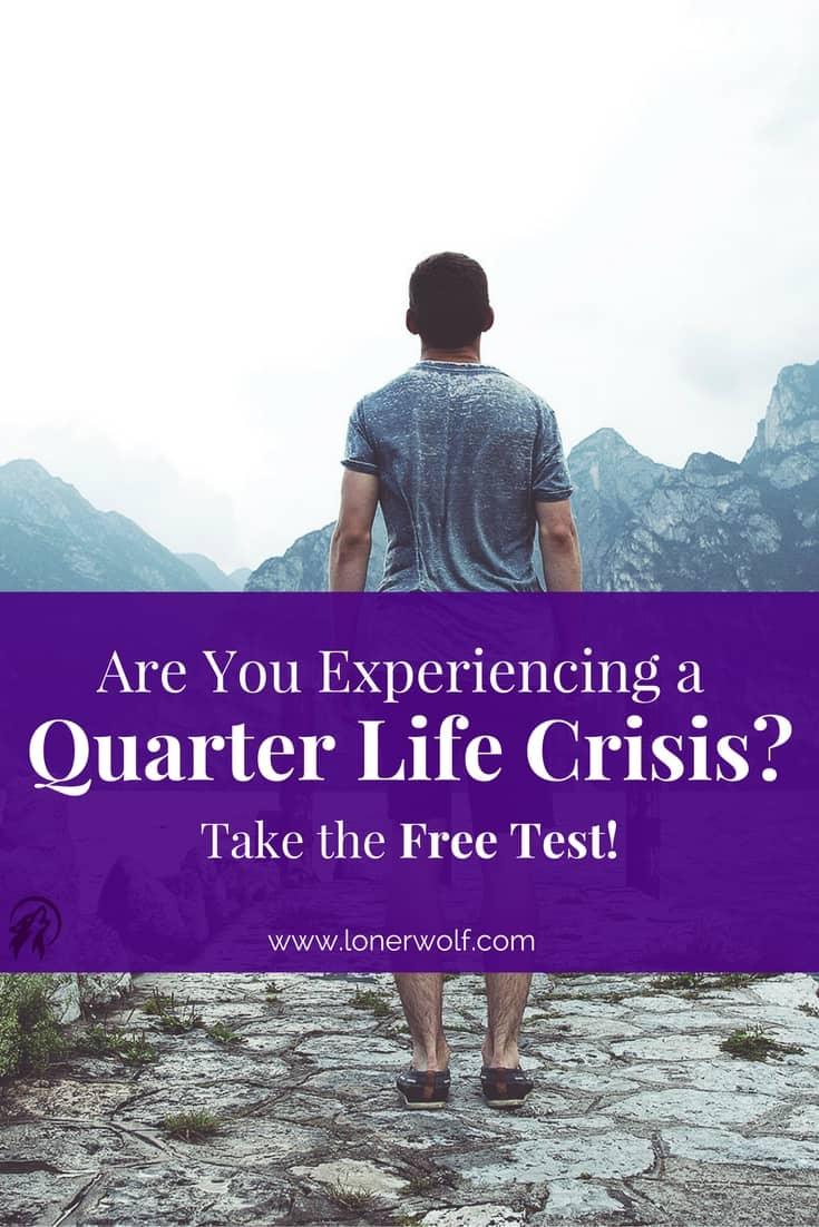Are You Going Through a Quarter-Life Crisis? [Free Test]