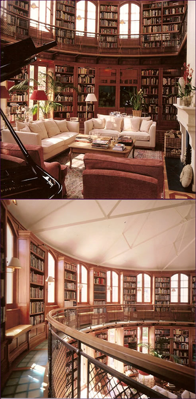 Anonymous Private Library Designed by by Candour, Ltd
