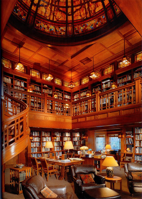 24 stunning introvert dream libraries lonerwolf for Best home library designs