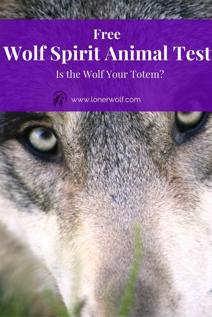 Wolf Spirit Animal Test