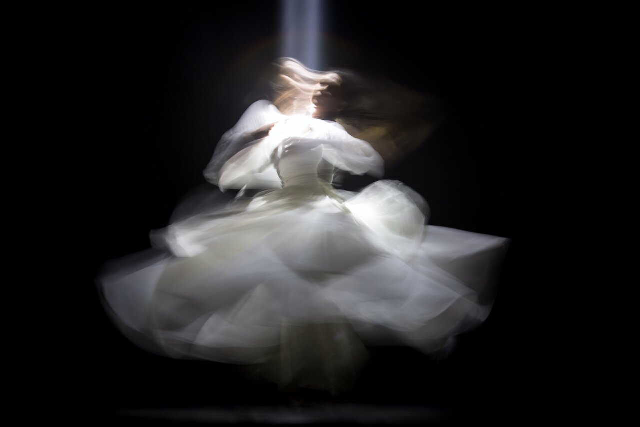 Image of a person dancing as their authentic self