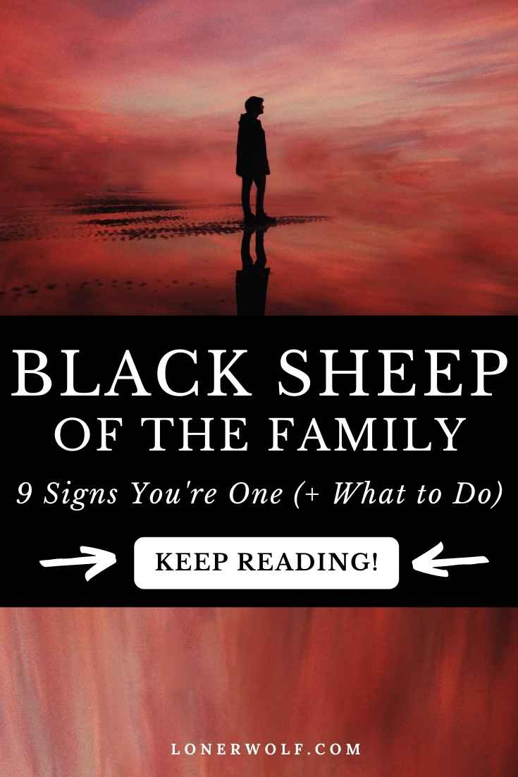 Are You the Black Sheep of the Family? (9 Signs)