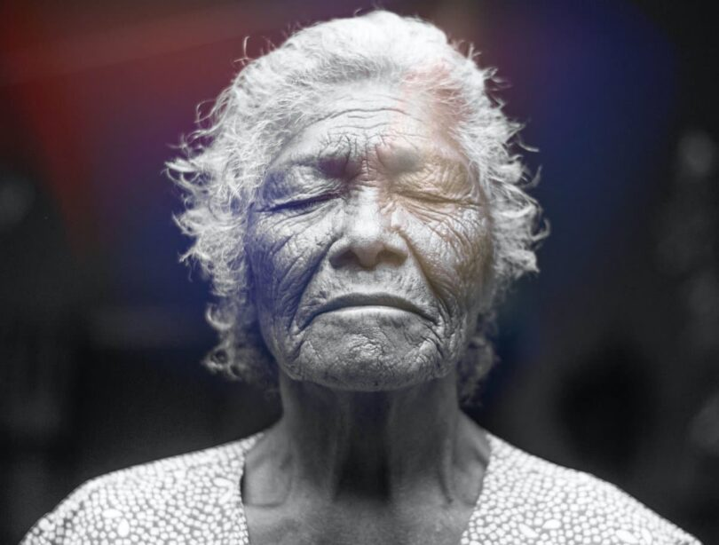 Image of an old mature soul