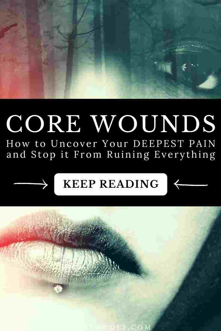 What is your core wound? How has it shaped you? How do you find it? Find out how to experience more healing and wholeness in this article ...  #corewound #corebelief #trauma