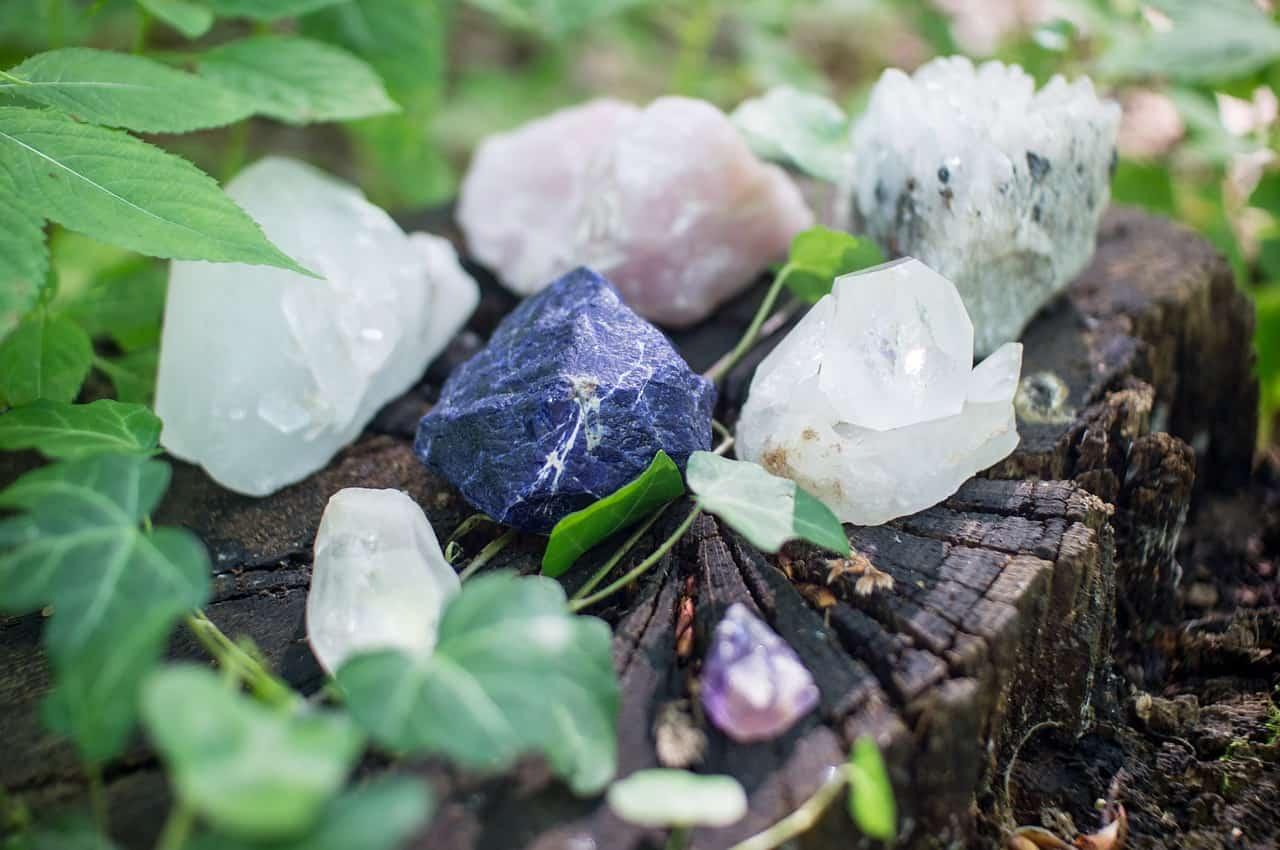 Image of healing crystals