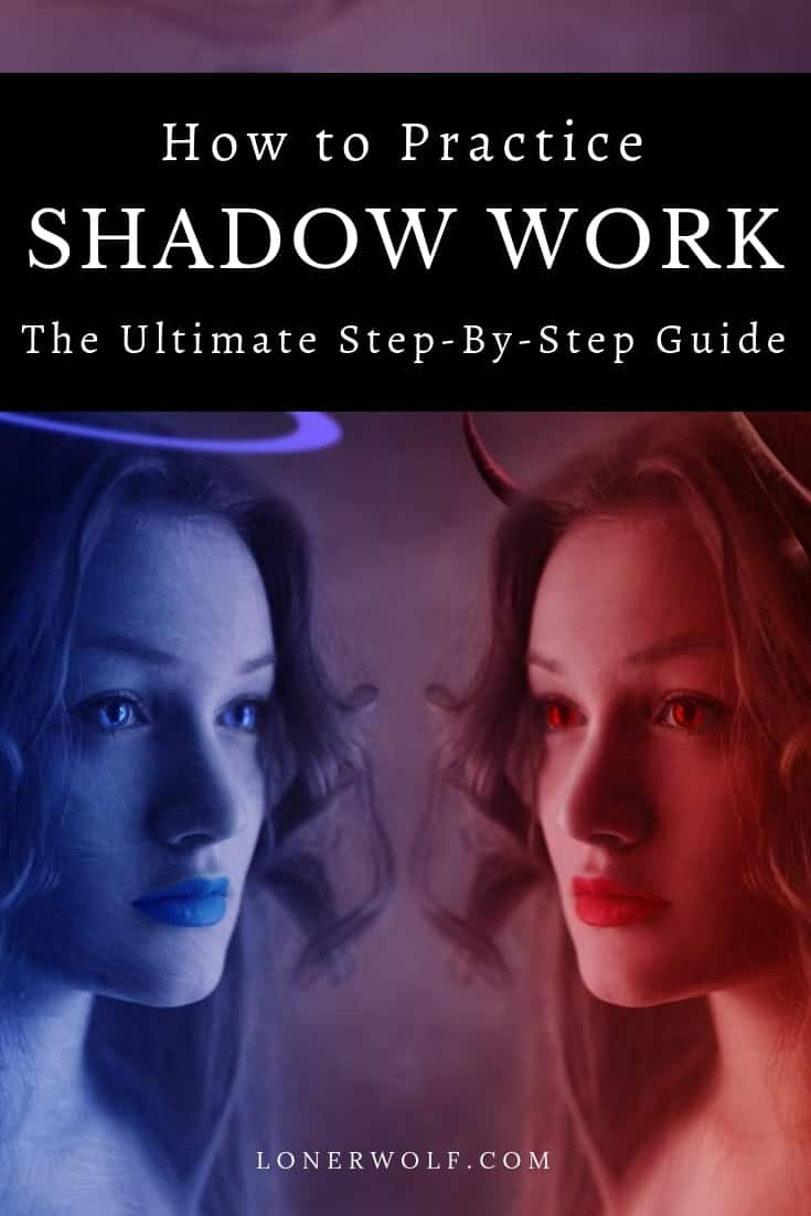 We ALL carry demons inside, also known as the shadow self. Read about how to do the spiritual practice of shadow work. 
