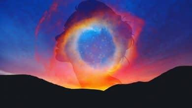 Image of a cosmic healed empath