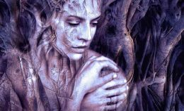 Image of a mystical woman experiencing spiritual maturity