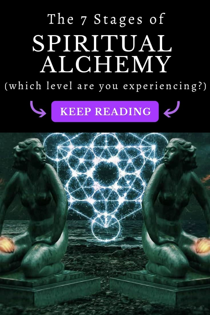 Learn about spiritual alchemy: the secret science of illumination and inner liberation. There are seven stages in total. At its root, alchemy is the transformation of the self ...