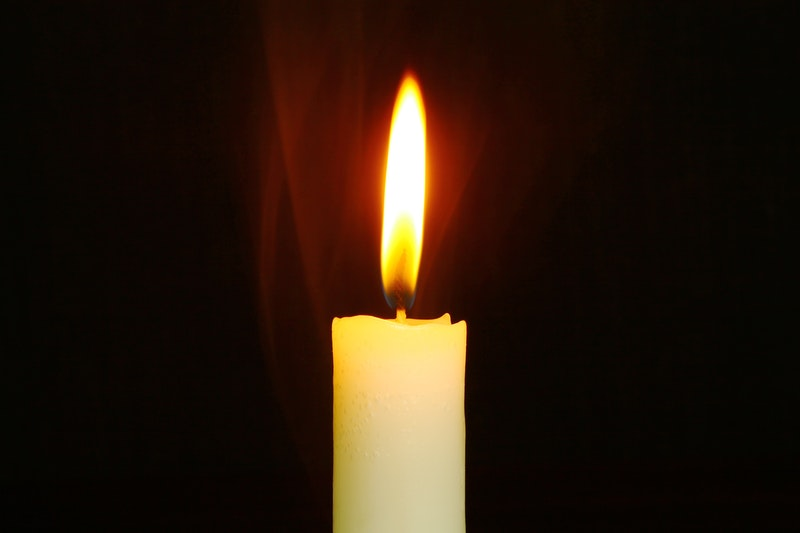 Image of a white candle