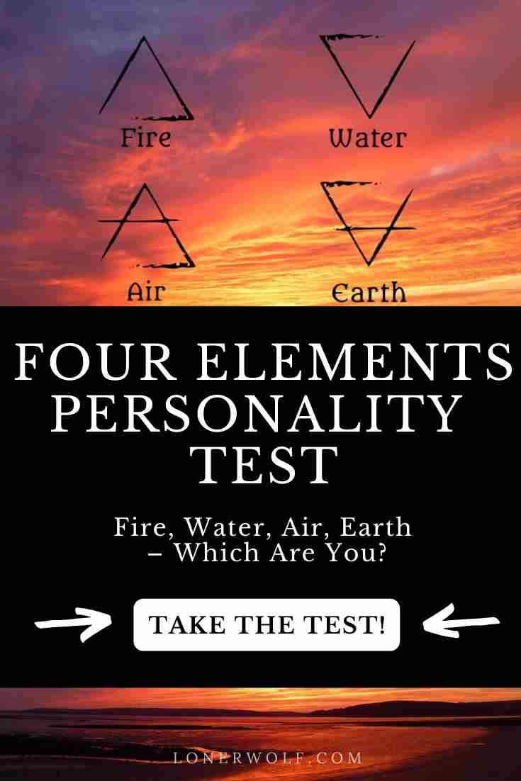 The Four Elements Test – What Are You?