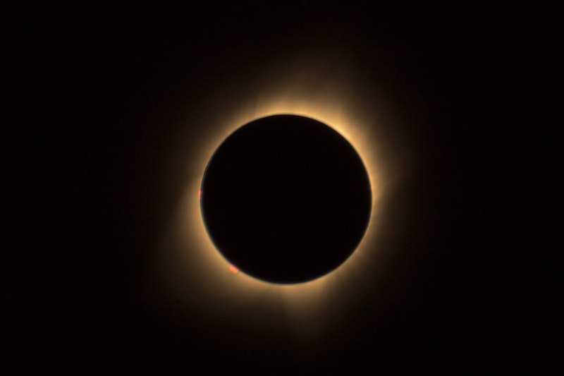 Image of an eclipse that represents existential depression