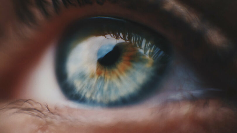 Image of a person's eye that is symbolic of soul retrieval