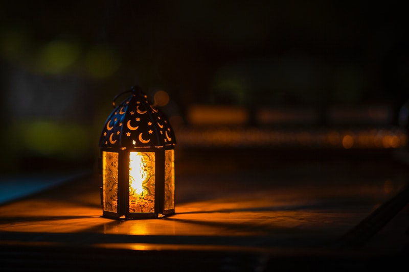 Image of a mystical lamp