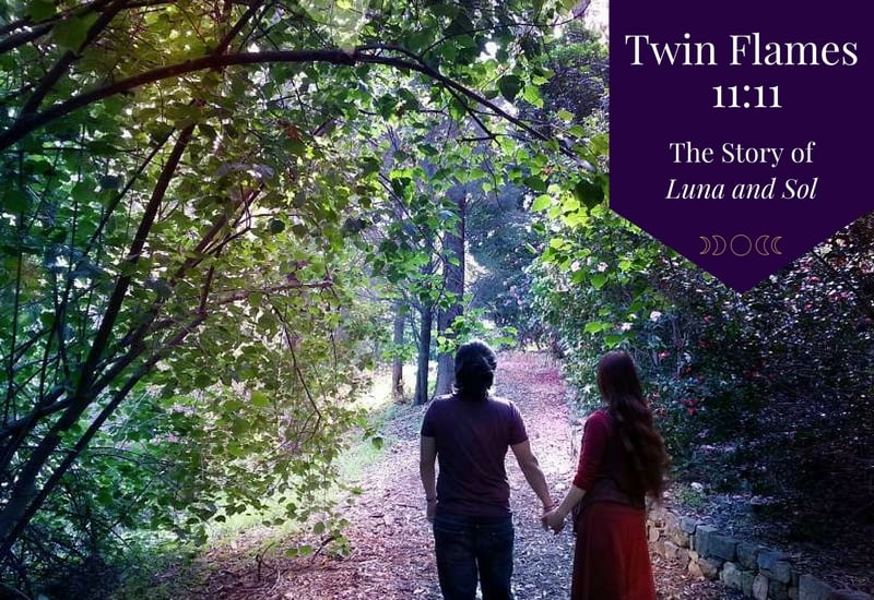 Twin Flames 11:11 – The Story of Luna and Sol ⋆ LonerWolf