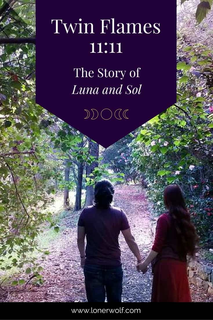 The inspiring story of twin flame writers and inner work teachers, Luna and Sol.