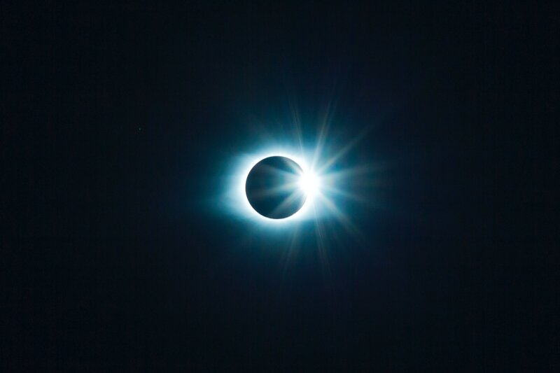 Image of an eclipse ego death