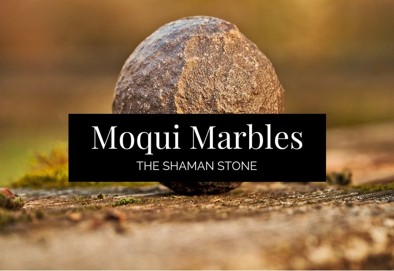 Powerful Crystal Moqui Marbles image