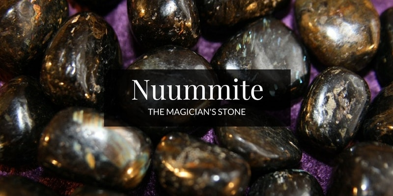 Powerful Crystal Nuummite image