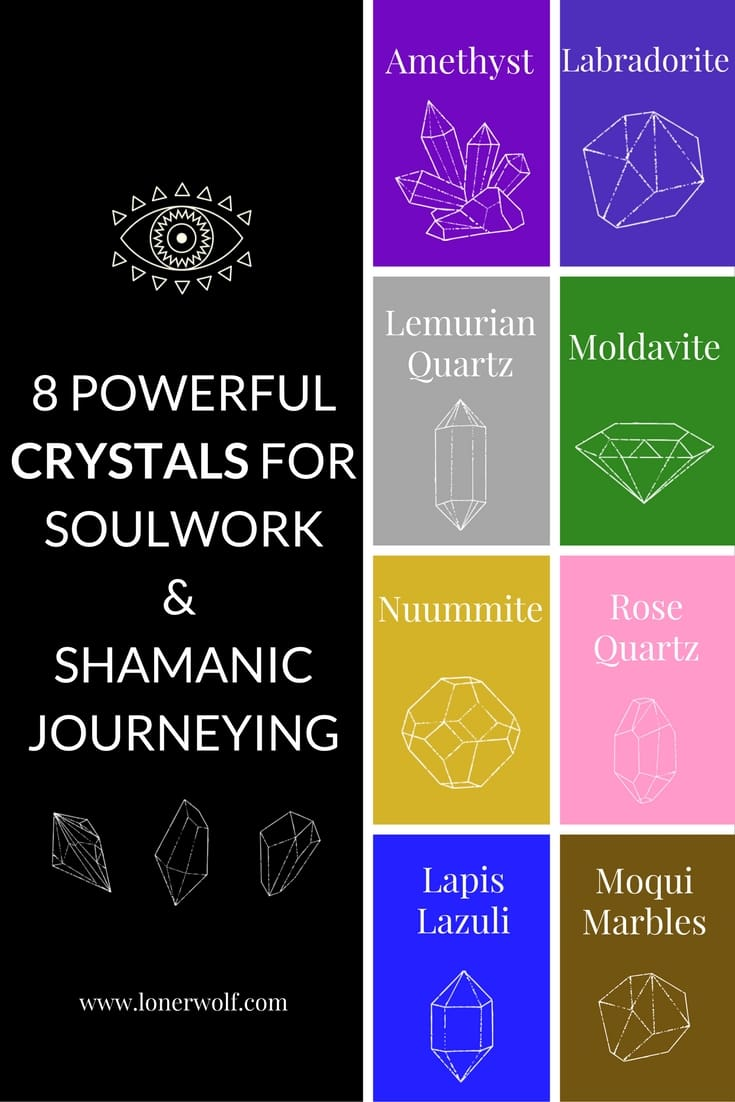 8 Powerful Crystals For Inner Work and Shamanic Journeying