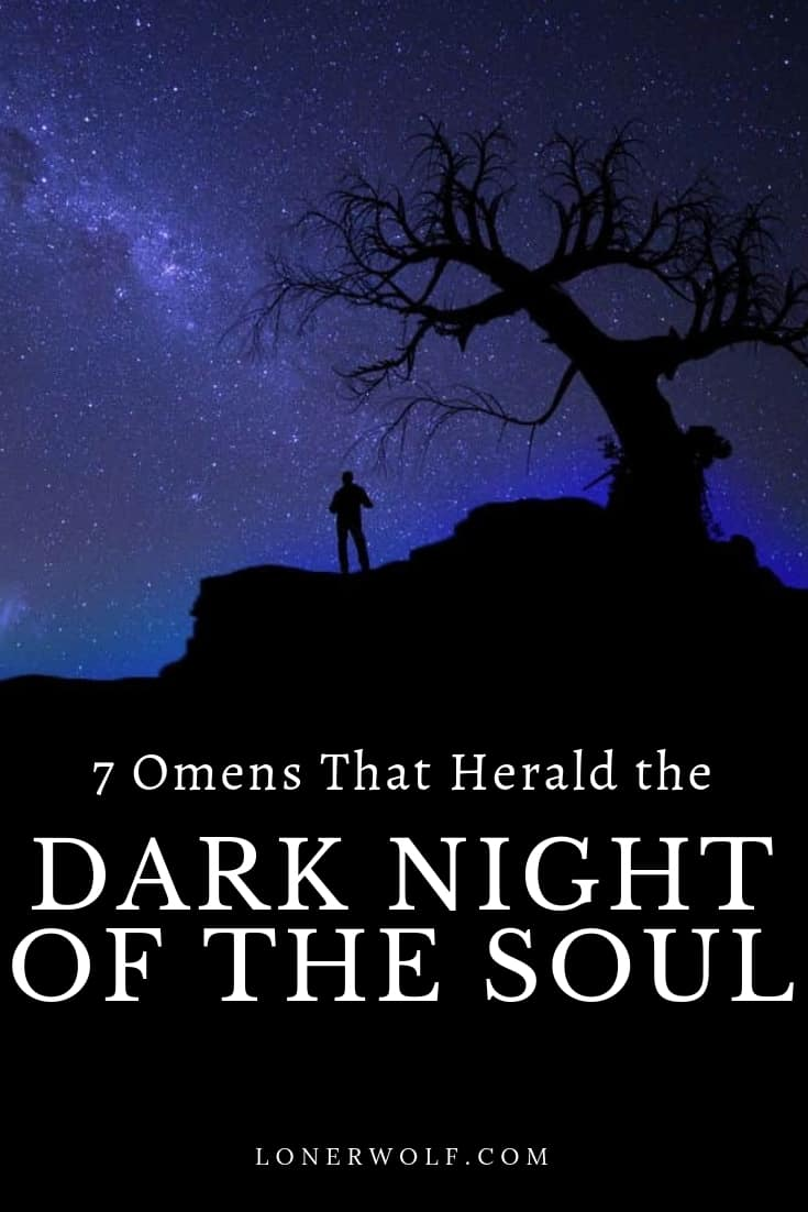 Are you going through the agonizing but sacred spiritual experience known as the Dark Night of the Soul? Discover the signs. Click to read more ... #darknightofthesoul #darknightofthesoulsigns #darknightofthesoulquotes #darknightofthesoulart #spiritualawakeningsymptoms