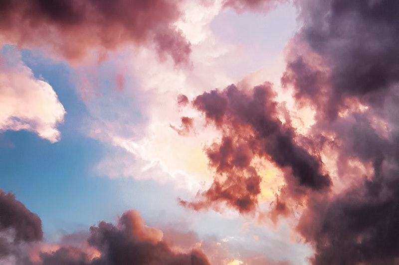 Image of a clouds in the sky