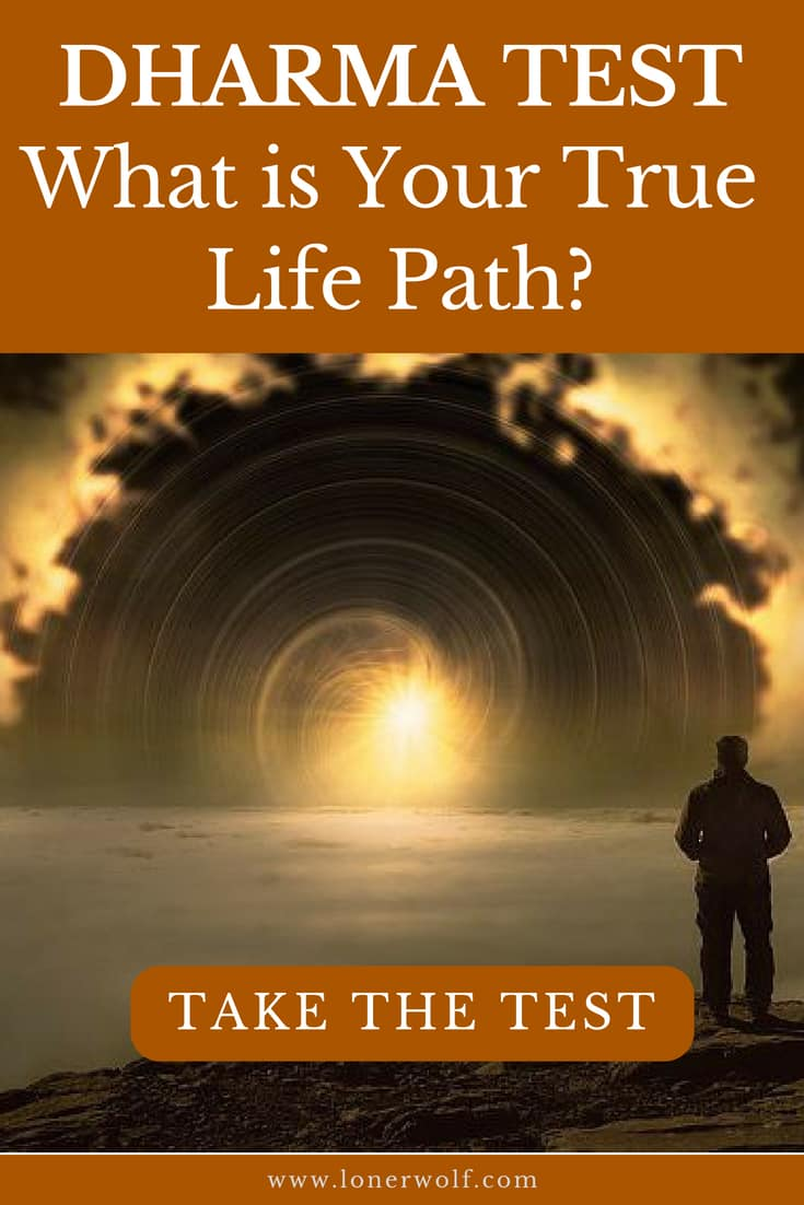 Dharma Type Test — What is Your True Life Path?