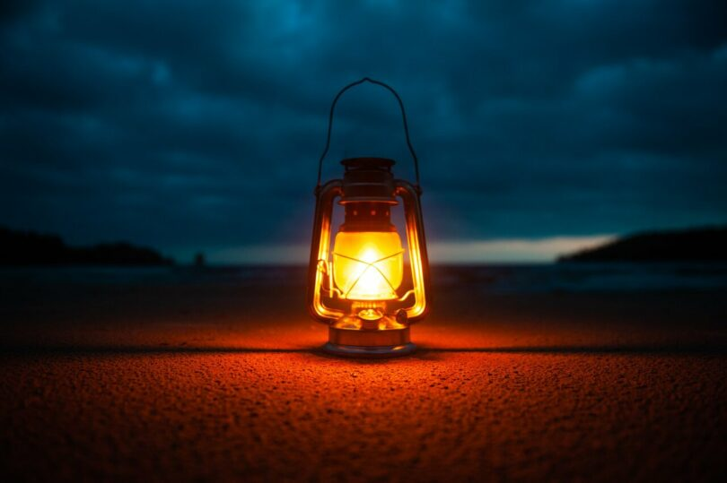 Image of a lamp that represents spiritual guidance