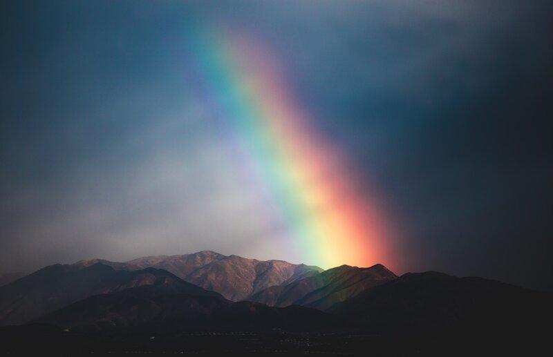 Image of a rainbow