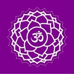 Sahasrara crown chakra healing image