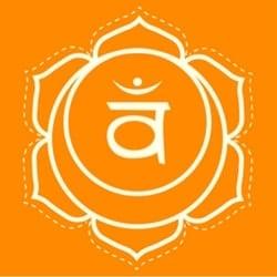 Svadhisthana sacral chakra symbol image