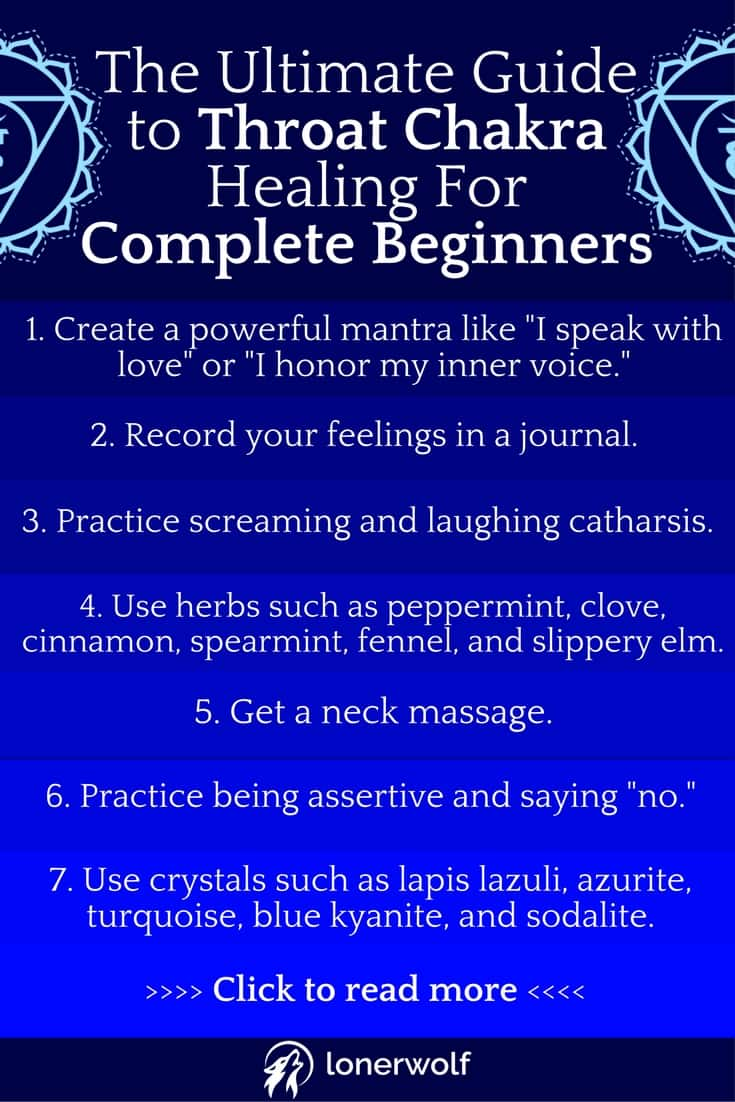 The Ultimate Guide to Throat Chakra Healing For Complete Beginners