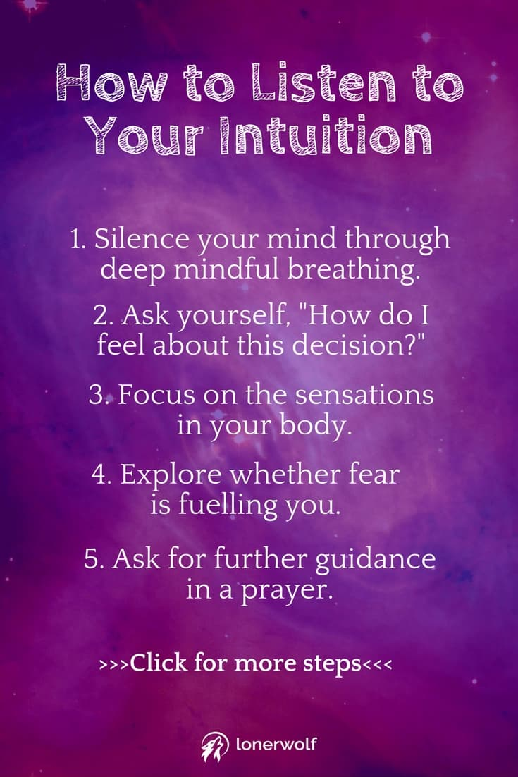 Developing your intuition is simple using these tips. Trust your intuition and witness your life transforming immediately! Click for more guidance. #intuition