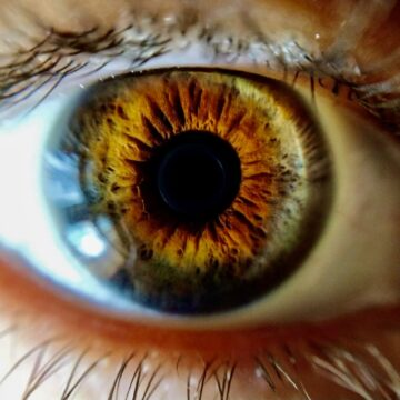 Image of a person's eye symbolic of intuition