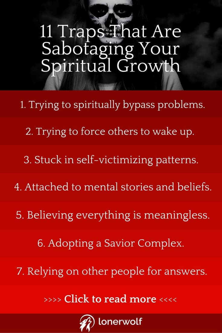 11 Traps Sabotaging Your Spiritual Growth