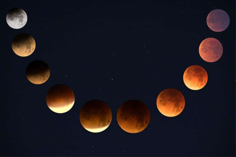 Image of moon phases