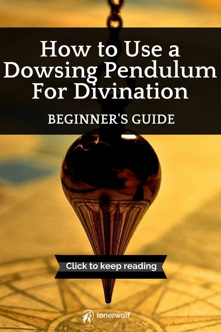 The dowsing pendulum is a humble, but powerful, tool of self-insight.
