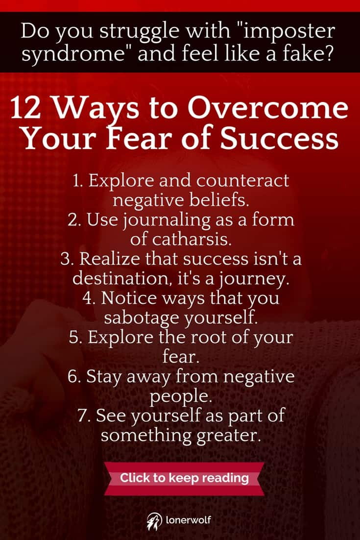 12 Ways to Stop the Fear of Success From RUINING Your Life