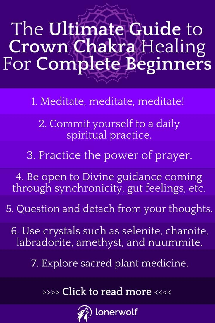 The Ultimate Guide to Crown Chakra Healing For Complete Beginners