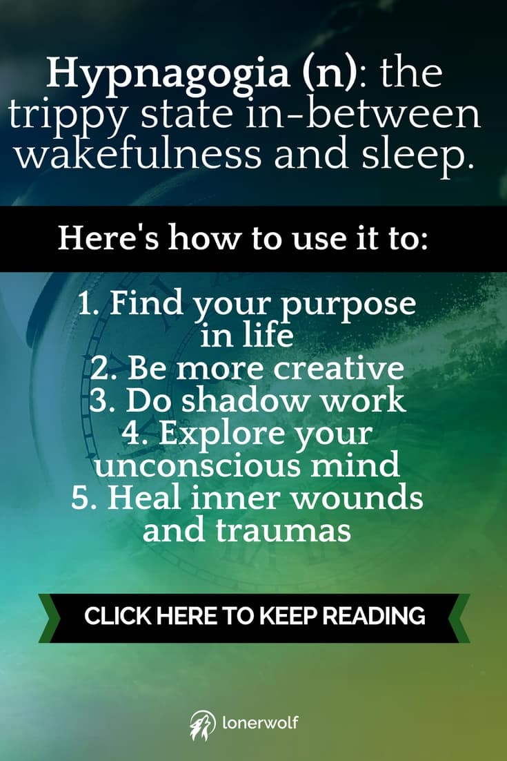 Similar to lucid dreaming, hypnagogia is the fleeting state when we\'re awake while falling asleep. This amazing form of Dream Work can be used for deep psychological and spiritual self-discovery.