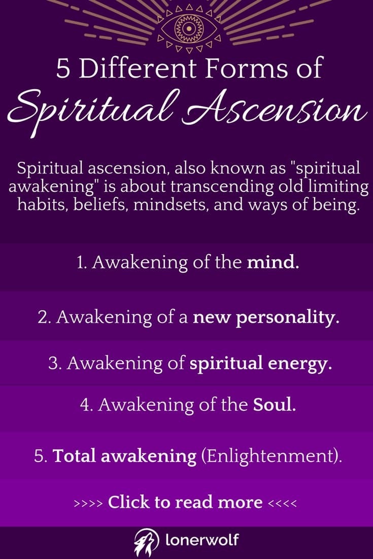 5 Different Forms of Spiritual Ascension - Which Have You