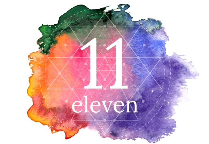 Eleven - meaning of numbers image