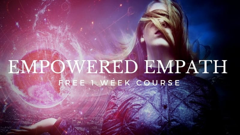 Empowered Empath Free Course image