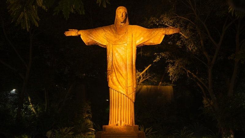 Image of Jesus representing the Divine Masculine