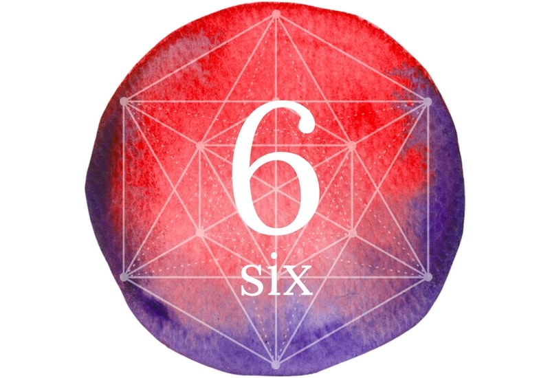 Six - meaning of numbers image