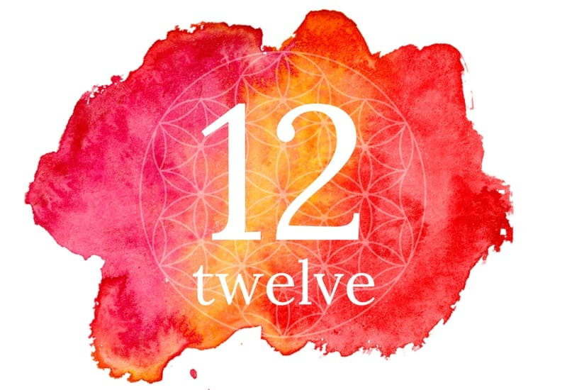 Twelve - 12 meaning of numbers image