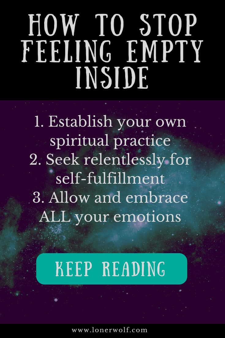 Feeling Empty: 5 Ways to Heal Your Inner Void