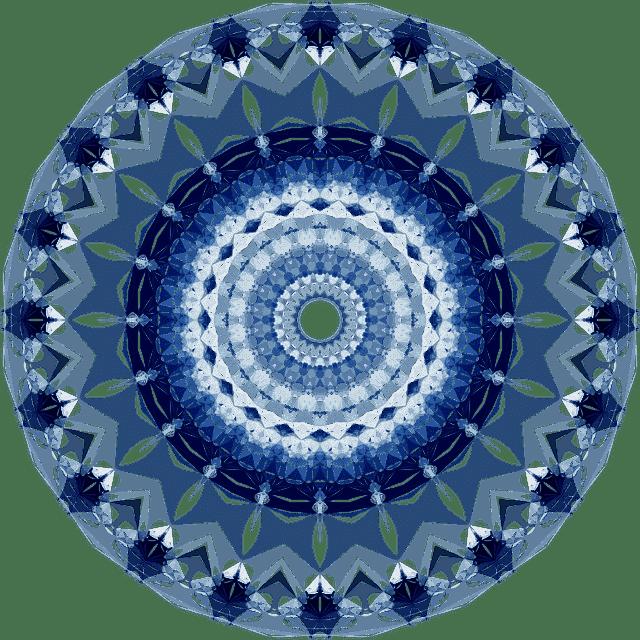 Image of a mandala that symbolizes oneness